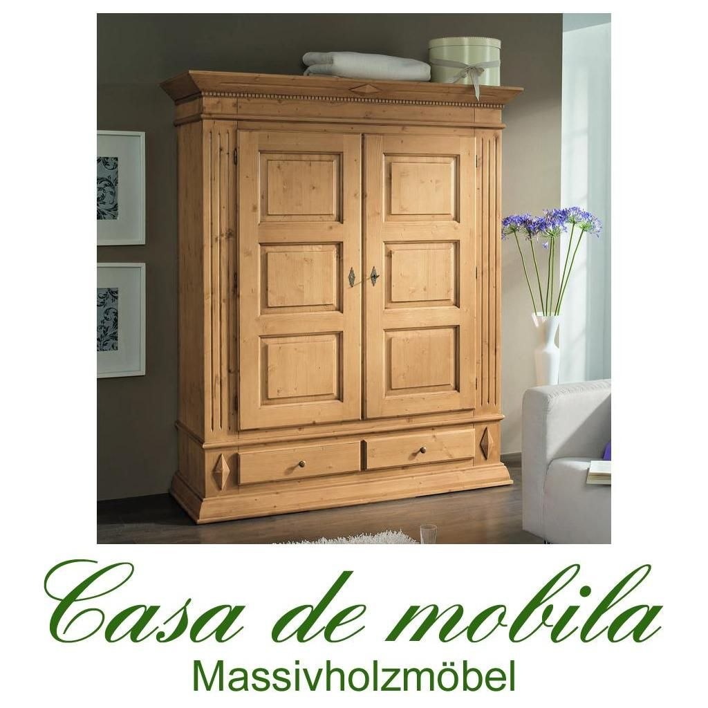 massivholz bauernschrank dielenschrank fichte massiv antik lackiert isabella eingangsbereich. Black Bedroom Furniture Sets. Home Design Ideas