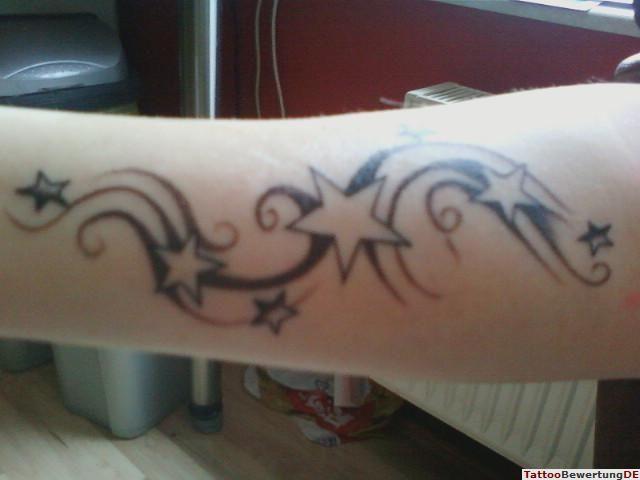 Tattoo Sterne Am Arm Mit Schweif20101127140310 Tattoos Ideas