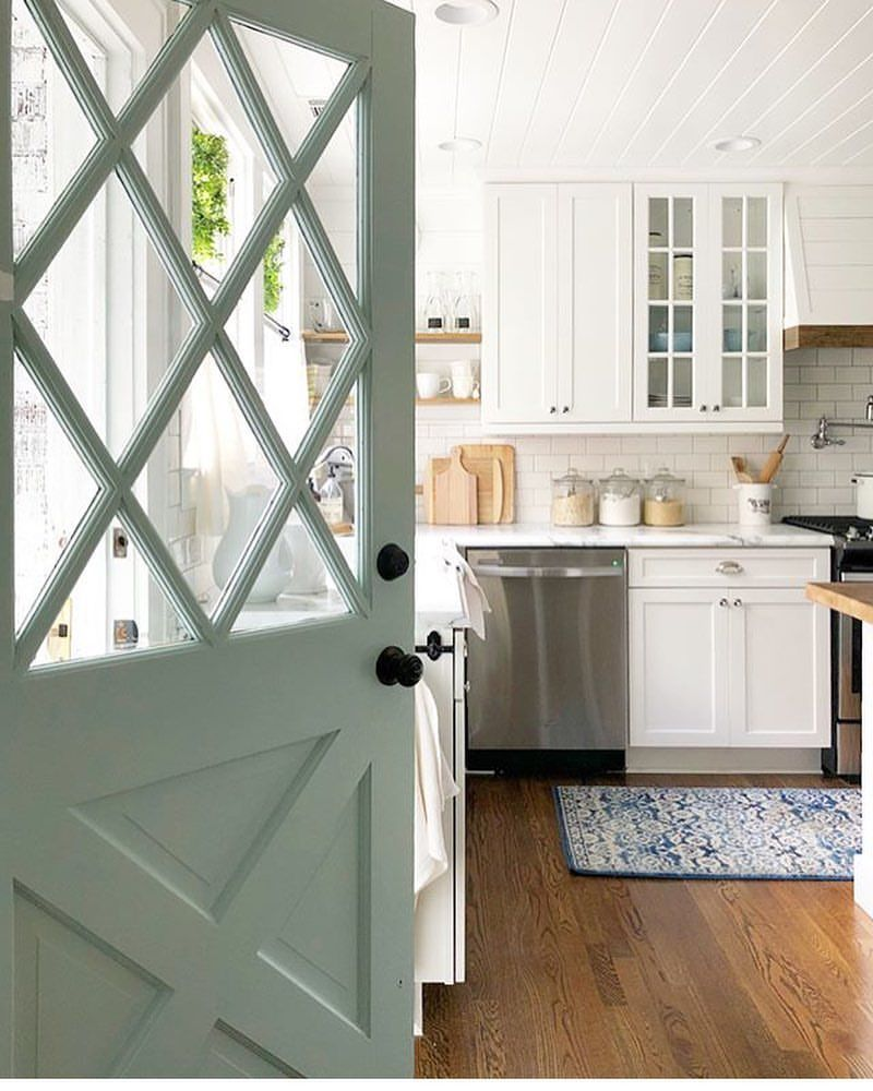 Two window kitchen design  pin by m roman on house  pinterest  kitchens house and future