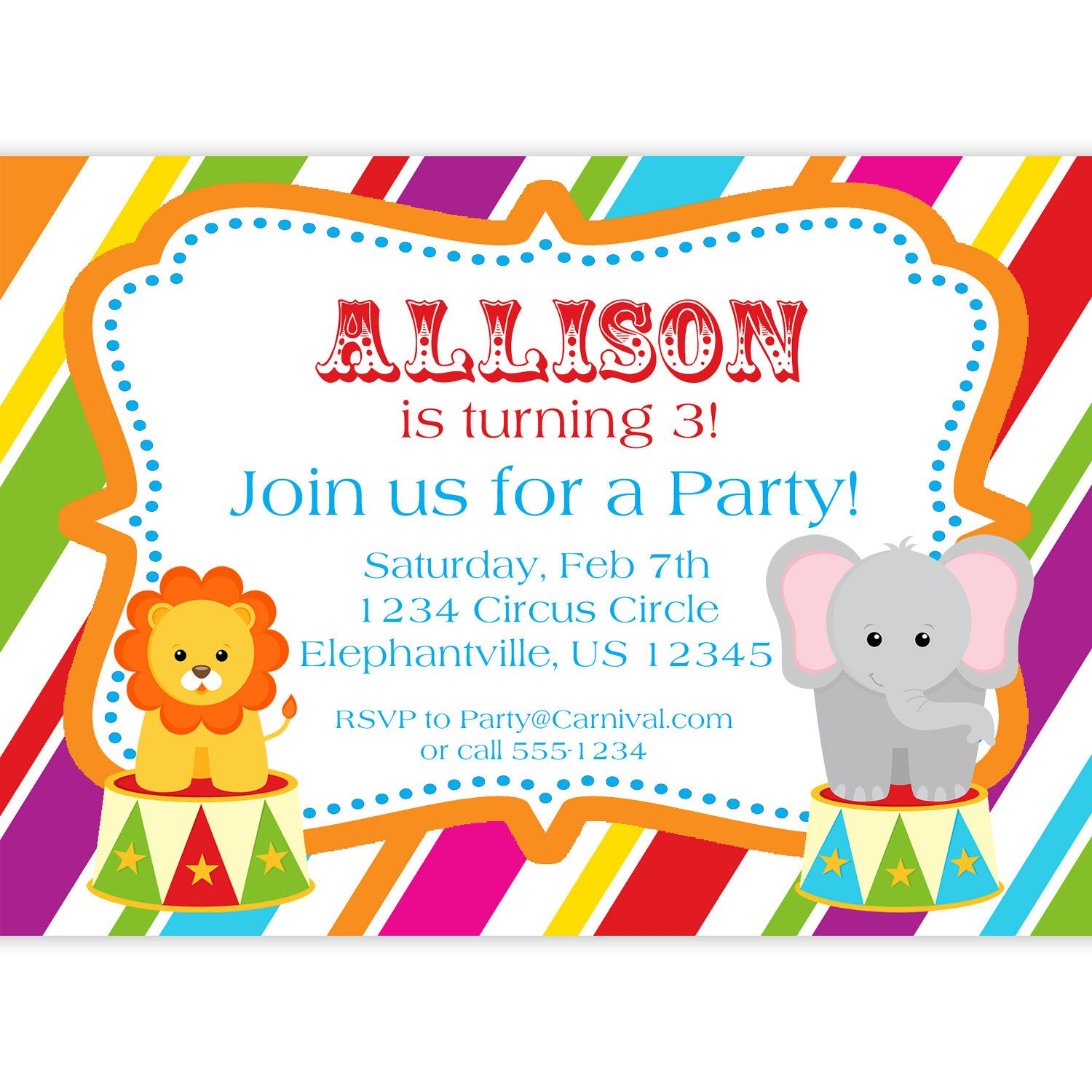Get Art Birthday Party Invitations For Your Kids Free Printable