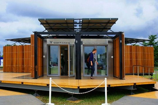 Team china fuses high low tech with the y container - Cost of solar panels for 3 bedroom house ...