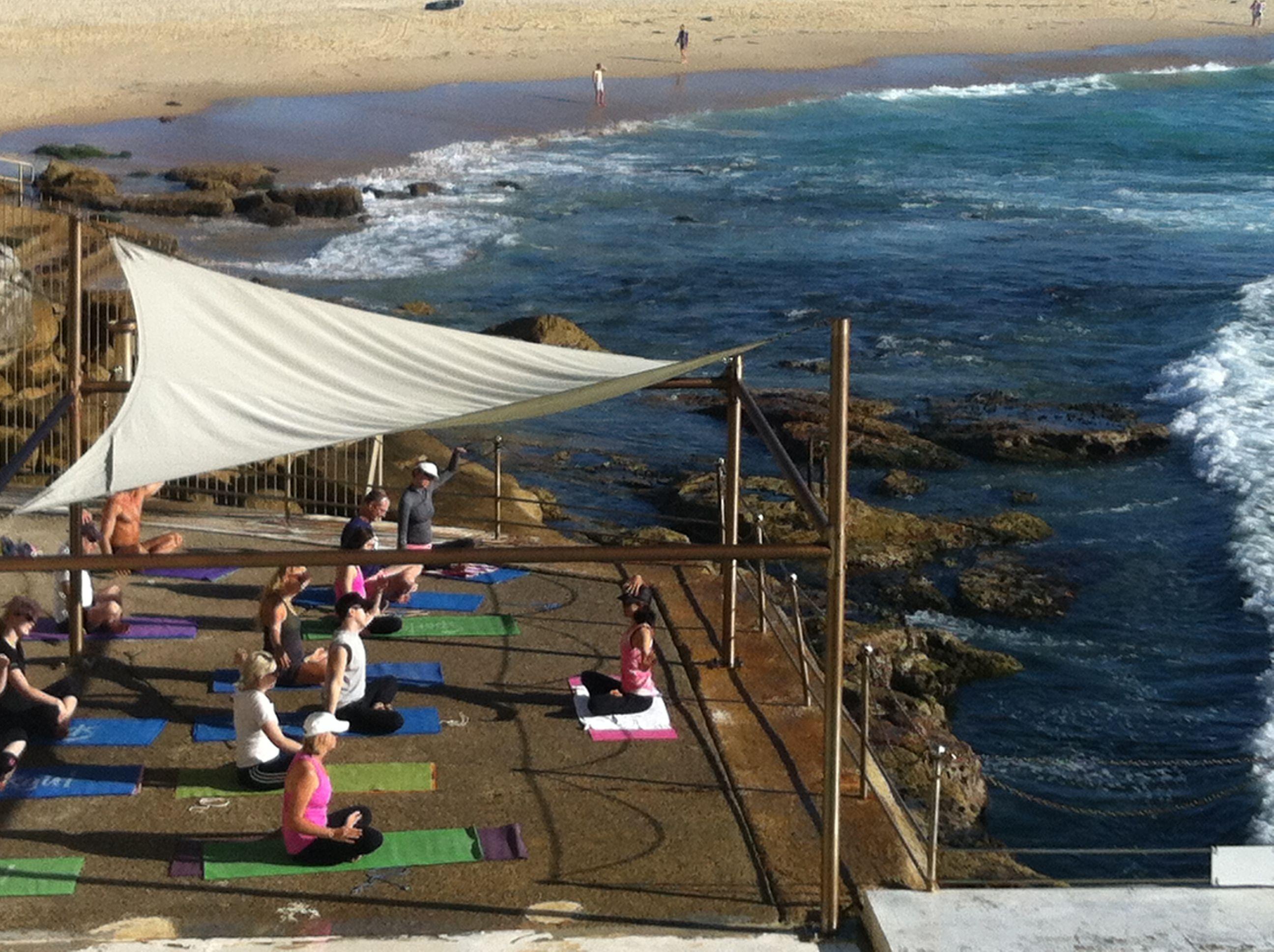 Morning Yoga Session- Bondie Beach