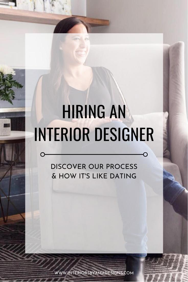 Hiring An Interior Designer Interior Design Interior Design