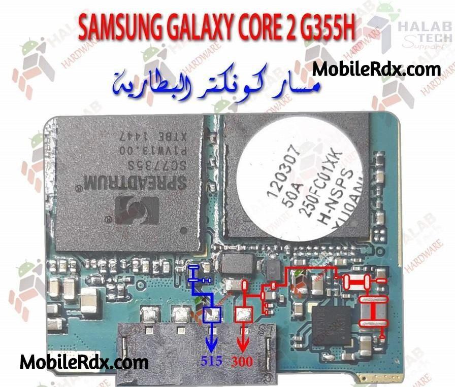 Samsung Galaxy Core 2 G355h Battery Connector Ways Samsung Galaxy Samsung Galaxy
