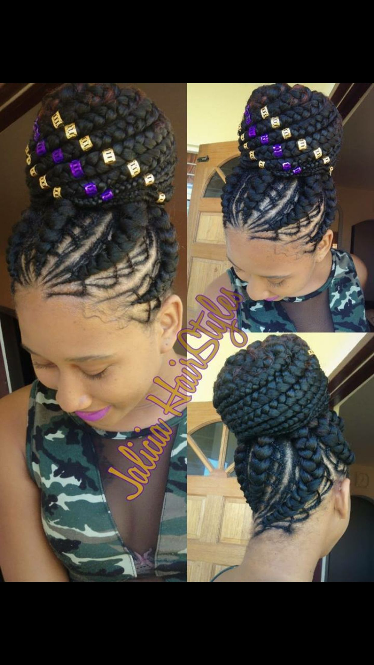 jalicia beautiful hairstyles