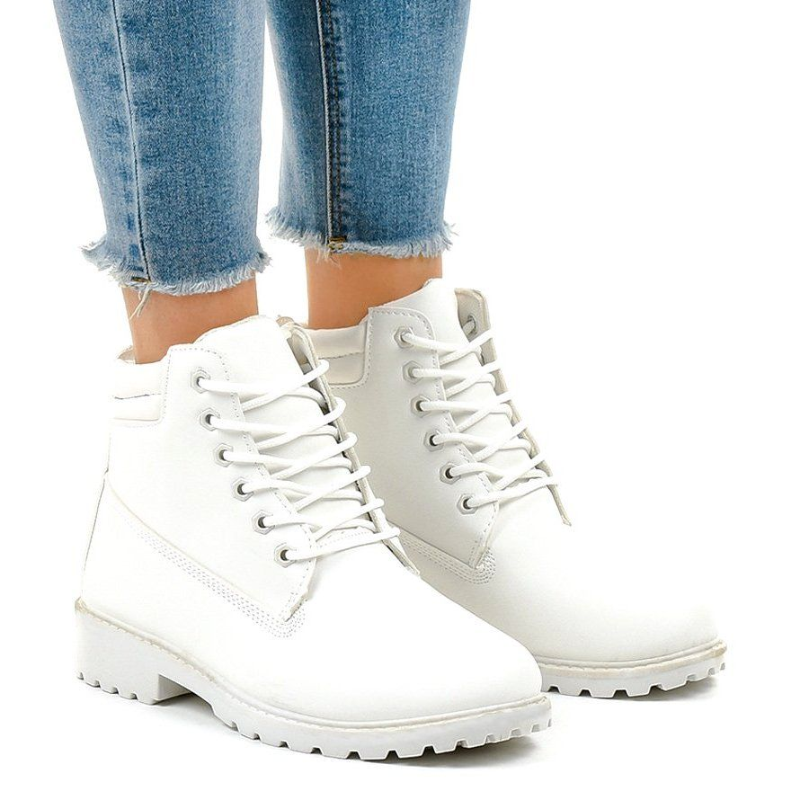Biale Traperki Bez Ocieplenia W 3033 Womens Boots Boots Boot Shoes Women