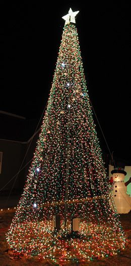 Trying To Get One Of These Mega Trees For Our Tree Lighting Ceremony Christmas Night