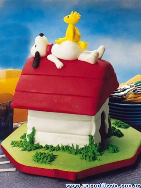 Birthday Cake Snoopy Cakes Dessert Recipes Pinterest Snoopy