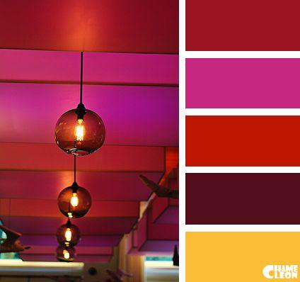 Color Palette Wine Red Magenta Red Beige Living Room Color Schemes Room Color Schemes Trendy Living Rooms