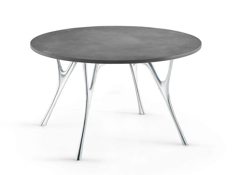 PEGASO Cement table by Caimi Brevetti design Alessandro Angelotti, Letterio Gianni Cardile