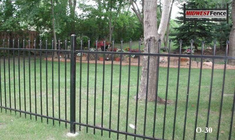 2 Rail Ornamental Iron Fences Cast Iron Fence Iron Fence Fence