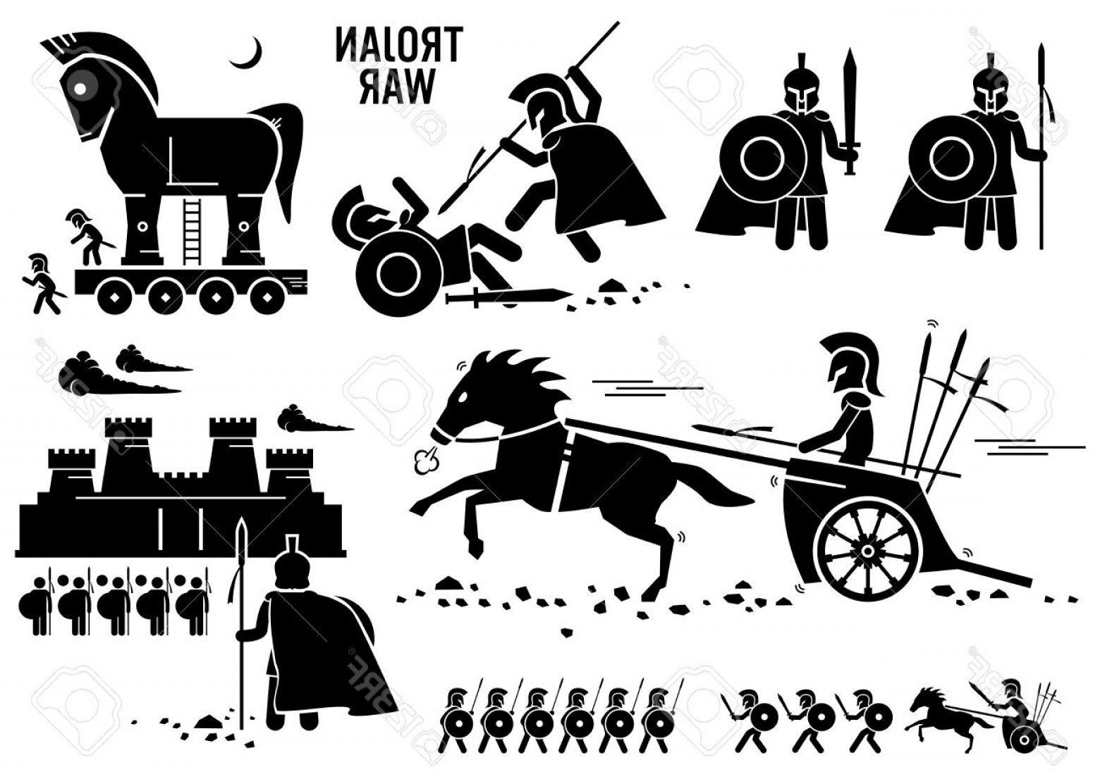Ancient Greece Sparta Warriors