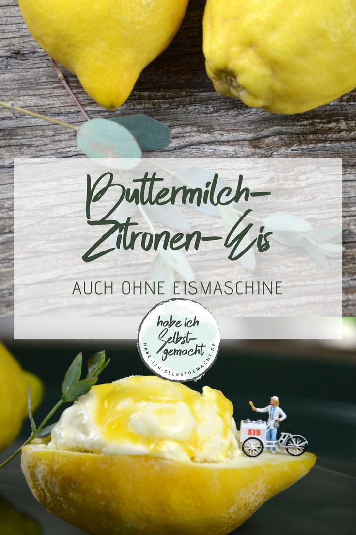 Photo of Buttermilch-Zitronen-EIs
