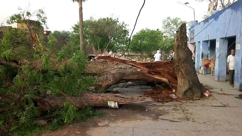 What assistance Yogi govt has in belly for storm effected