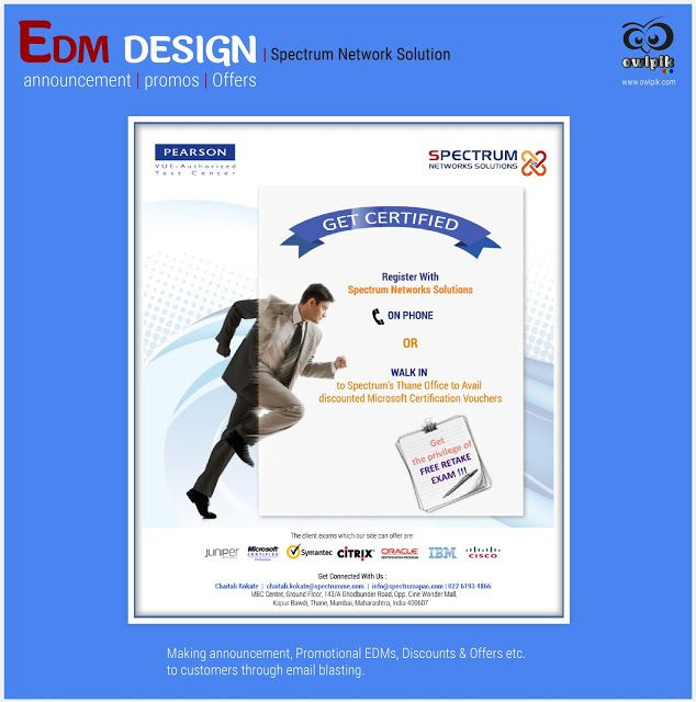 Edm electronic direct mail design spectrum network solution edm electronic direct mail design spectrum network solution announcement promos thecheapjerseys Gallery
