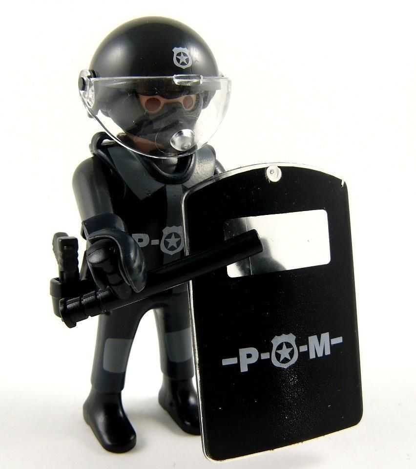 Playmobil Swat Police Figure Leader Buy Toy 2016 Set Boys