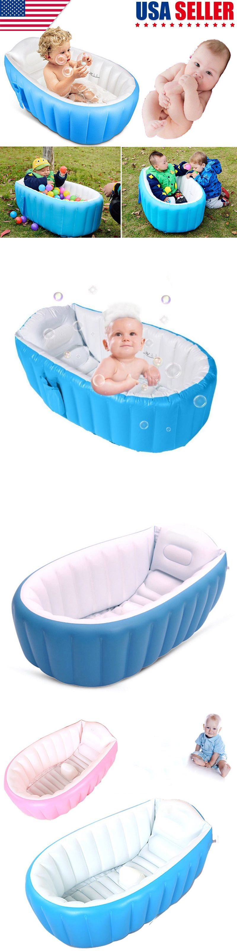Bath Tubs 113814: Baby Infant Inflatable Bath Tub Seat Mommy Helper ...