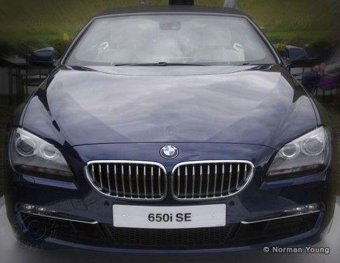 BMW 650i SE Convertible