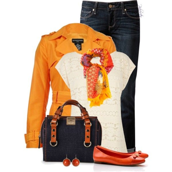 """Spring Trench"" by pinkroseten on Polyvore"