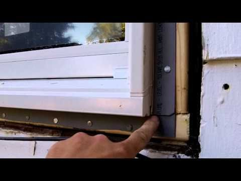 How To Install A Window With Nailing You