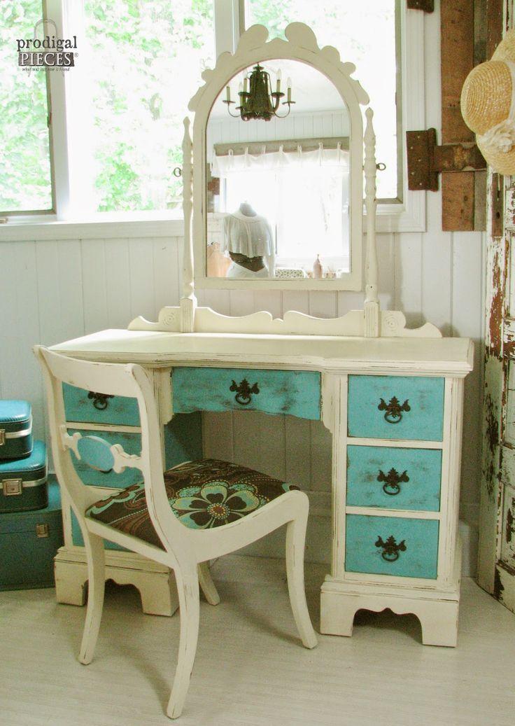 Vanity Makeovers 16 Different Sets Redone Prodigal Pieces Diy Bathroom Vanity Makeover Furniture Vanity Furniture Makeover