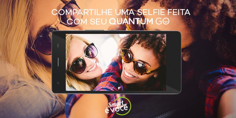 Hj é dia de #selfiemonday! Como tá a segunda de vcs? Publique uma foto tirada com seu #quantumgo pra gente ver!