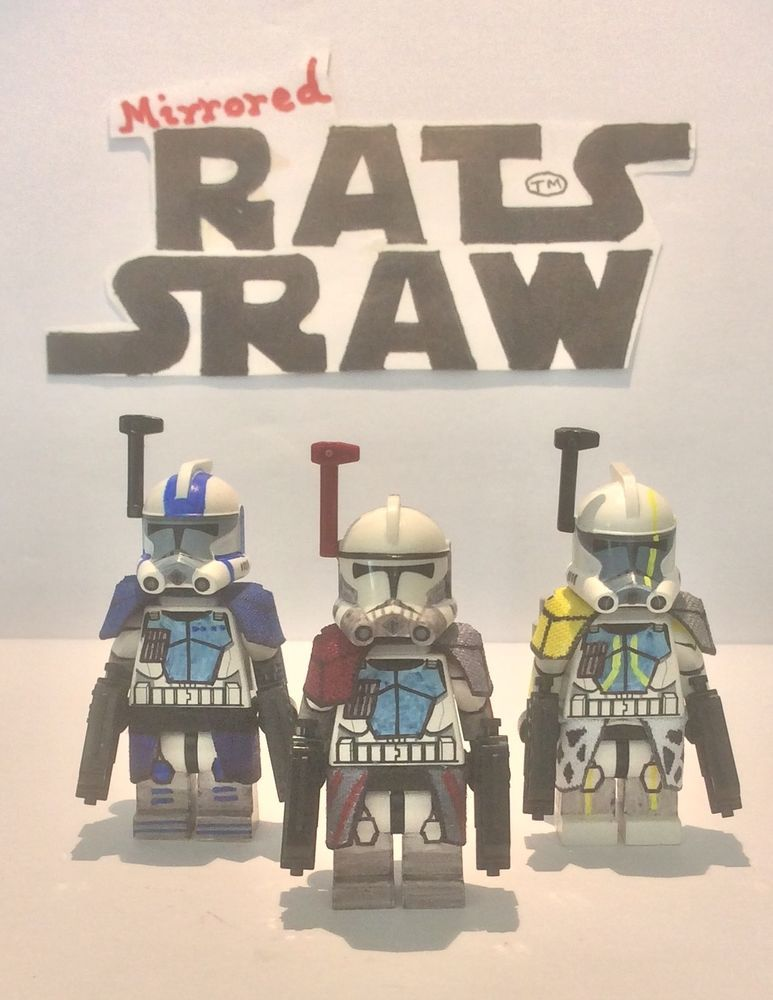 Details about Lego Star Wars minifigures - Clone Custom Troopers ARC ...