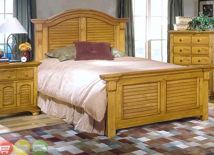 The Characteristics of Amazing Knotty Pine Bedroom Furniture ...