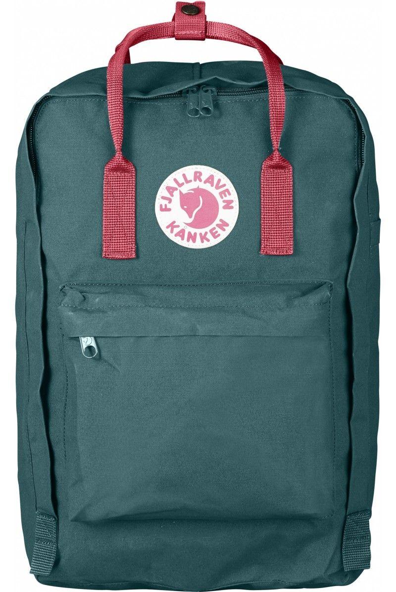 7e12297e3e4 Fjallraven Kanken Laptop 17   Frost Green Peach Pink - Fjallraven Kanken