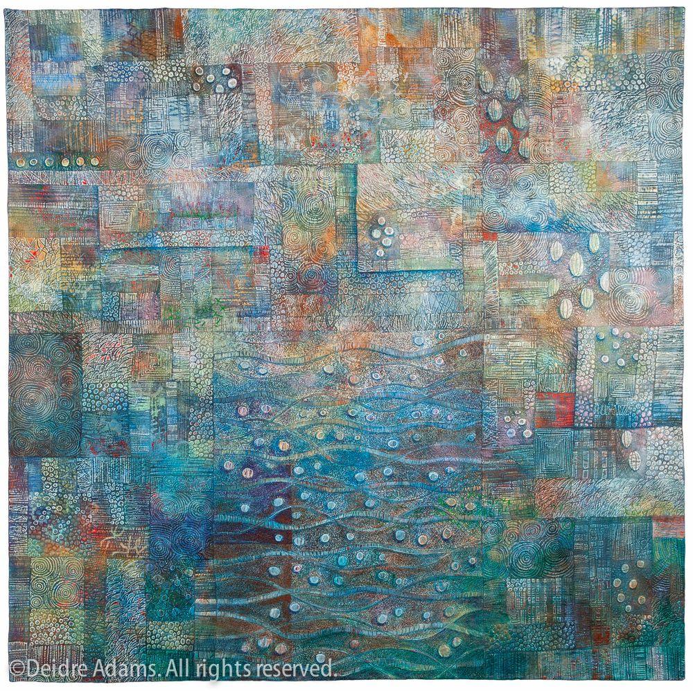 Diedre Adams -Tracings - Quilt National 2013