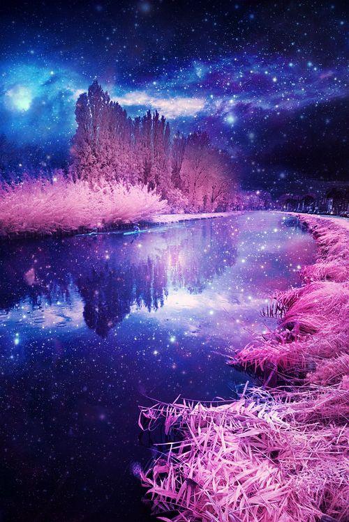 Tumblr Fantasy Art Landscapes Cute Galaxy Wallpaper Scenery Wallpaper