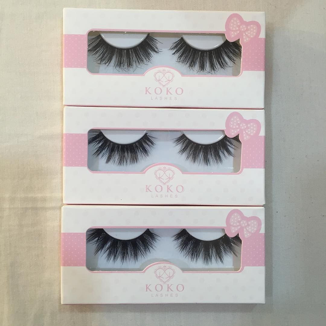 Koko lashes Names from top to bottom:( Queen B - Amore -Stella ) BHD