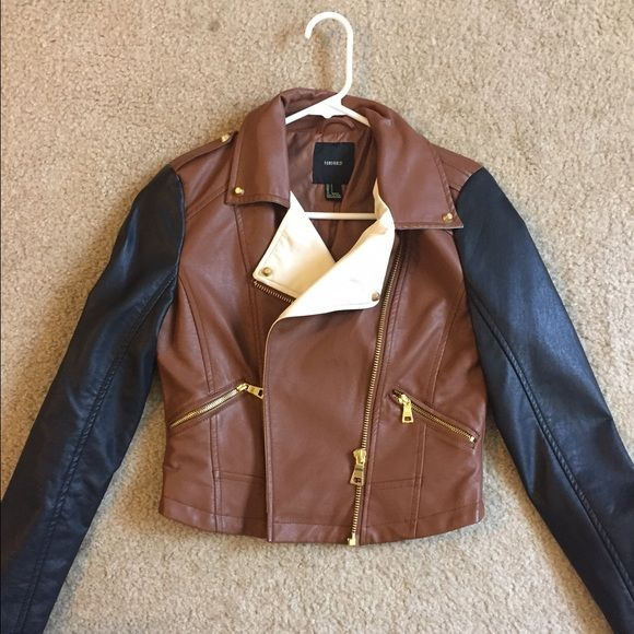 Forever 21 Jackets & Coats - Leather jacket *price reduced last call*