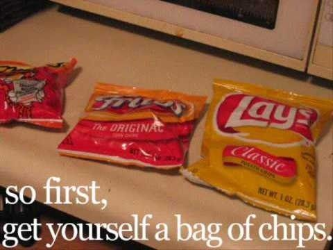 how to shrink a bag of potato chips
