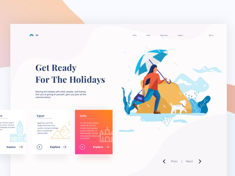 Travelling Web Header 2 Veb Dizajn Dizajn
