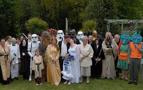 Top 10 Components of a Star Wars Wedding star wars wedding This
