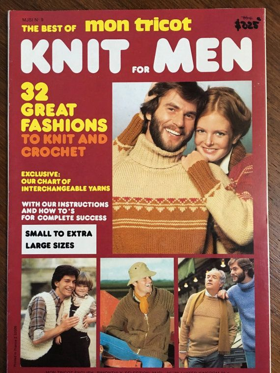 Mon Tricot Knitting For Men 32 Great Fashions Starsky And Diy