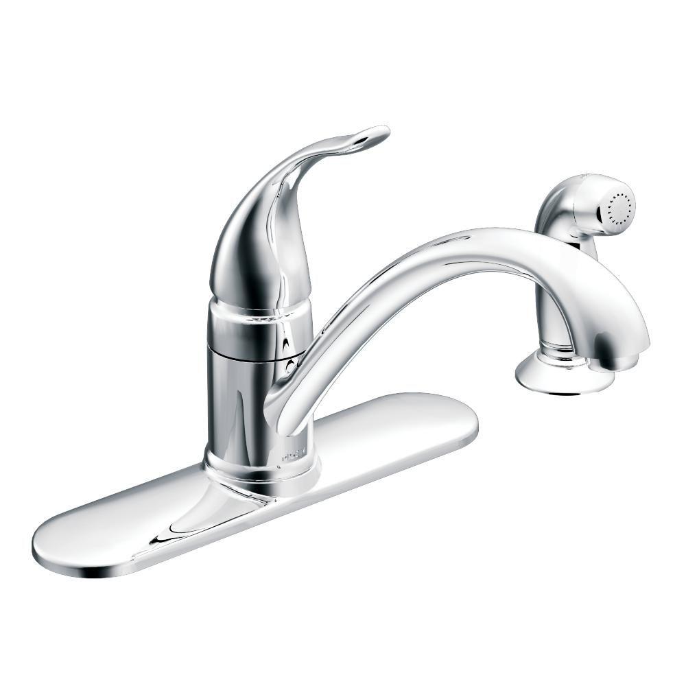 Moen torrance lowarc singlehandle standard kitchen faucet with