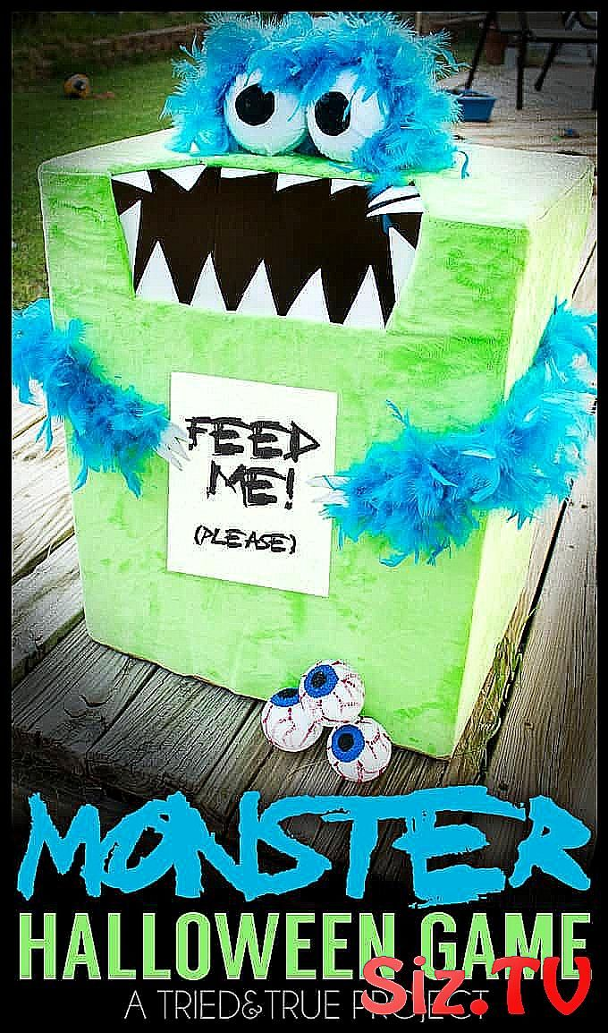 Feed The Monster   Halloween Game Make this crazy easy   Feed the Monster   Halloween Game for you