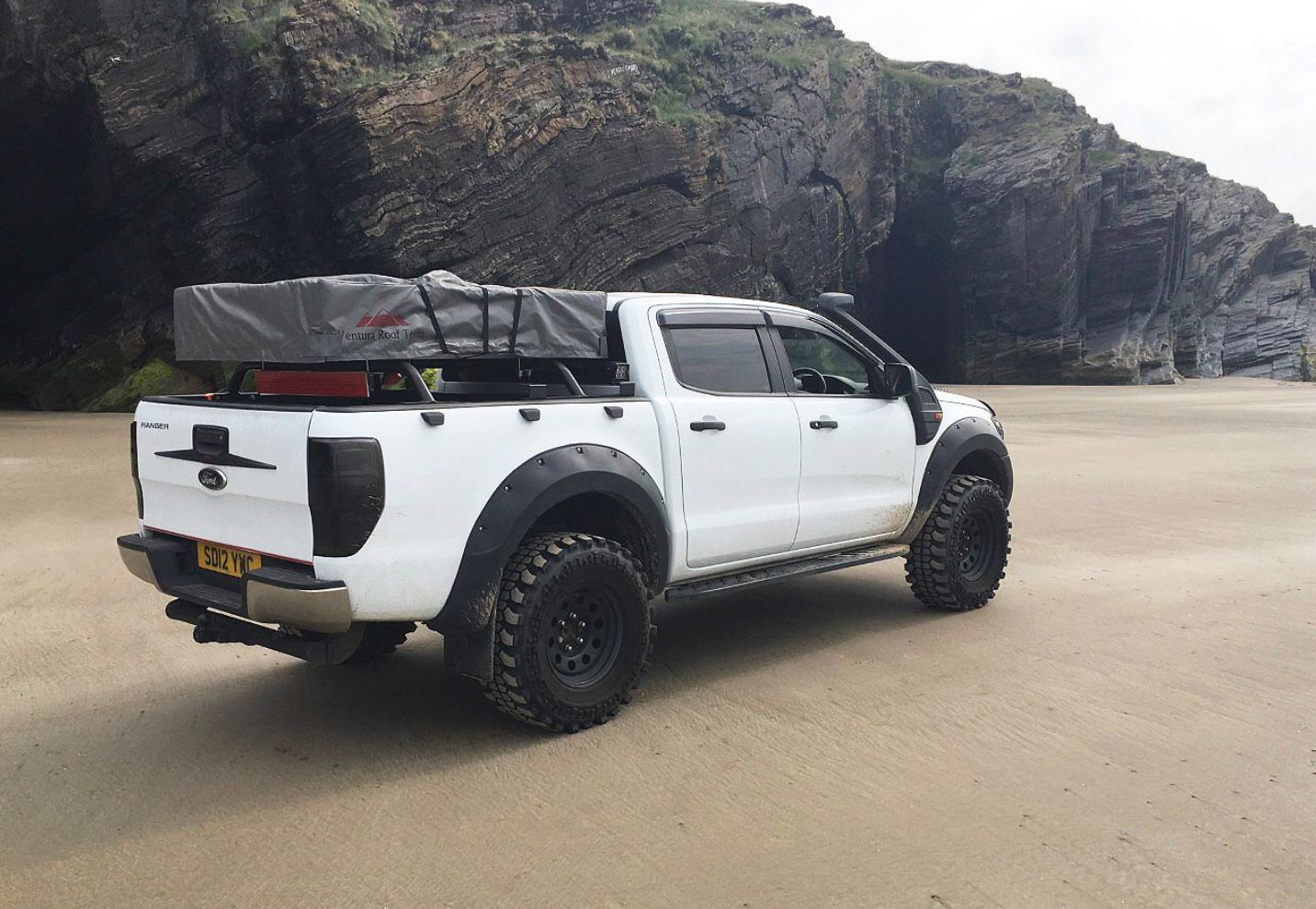 Raptor With Roof Tent Ford Ranger Wildtrak Roof Tent Ford