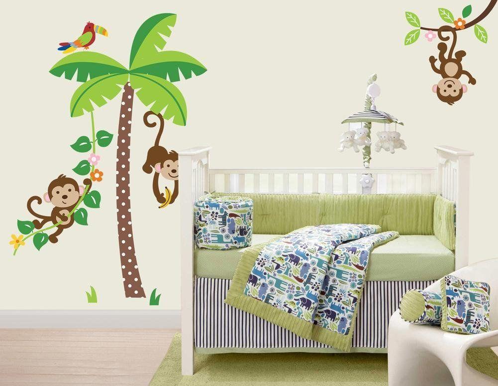 Wandtattoo Dschungel für das Kinderzimmer Kinder