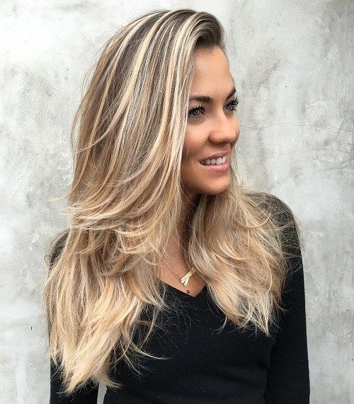 Blowout Hairstyle Stunning 30 Best Hairstyles And Haircuts For Long Straight Hair  Blowout