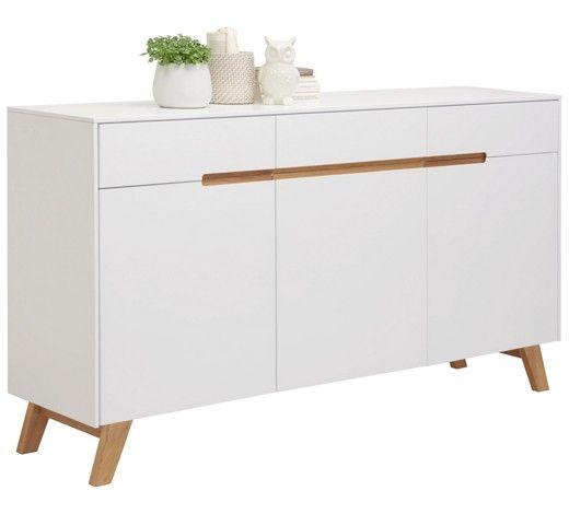Weißes Sideboard mit Beinen aus Massivholz - frischer Wind für Ihr - kommode für küche