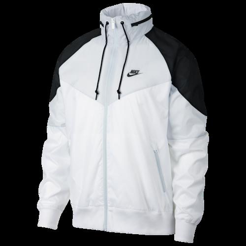lucha Afirmar sector  Nike Windrunner + Jacket - White / Wolf Grey Black | Nike windrunner jacket,  Nike clothes mens, Windrunner jacket