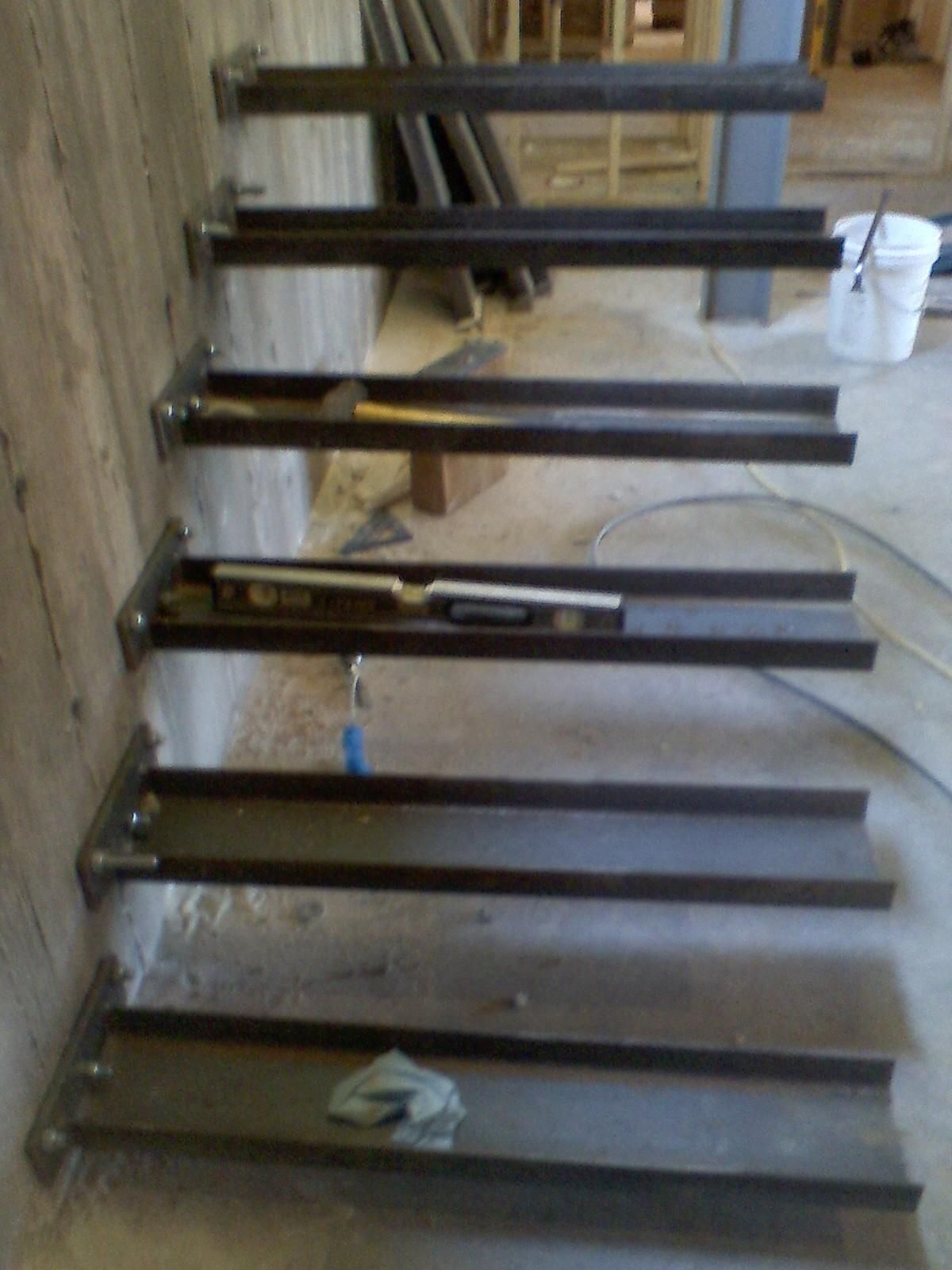 Genial Timber Springs Lodge: Floating Stair Update