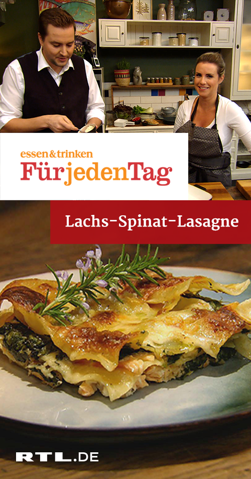 Photo of Salmon and Spinach Lasagna | RTLplus – Tue 29.01.