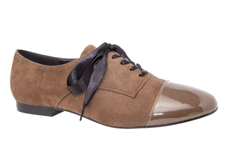 Blucher Ante Brazowe Z Czubkiem Lakierowanym Nowosci Nowosci Damskie Damskie Duze Rozmiary Women Oxford Shoes Brown Suede Oxfords Brown Suede Oxford Shoes