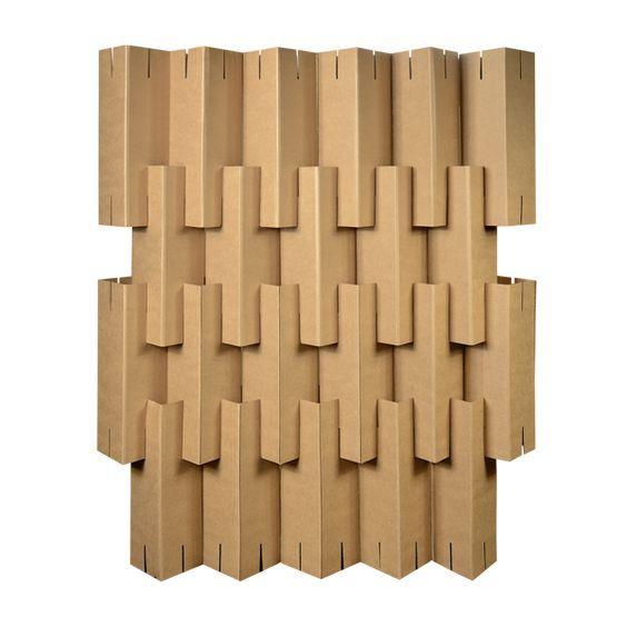 Biombos de carton affordable biombos aberturas - Biombo de carton ...