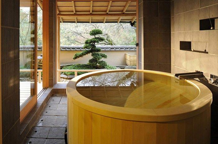 Bagno Giapponese ~ Giappone] i bagni zen dellhotel gôra kadan vasca interna in