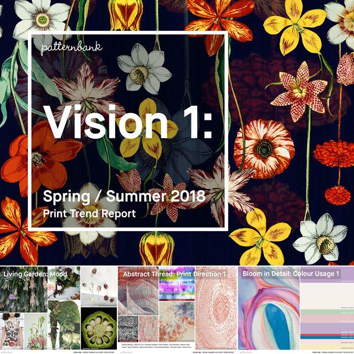 Vision 1: Spring/Summer 2018 Print Trend Report   Spring ...